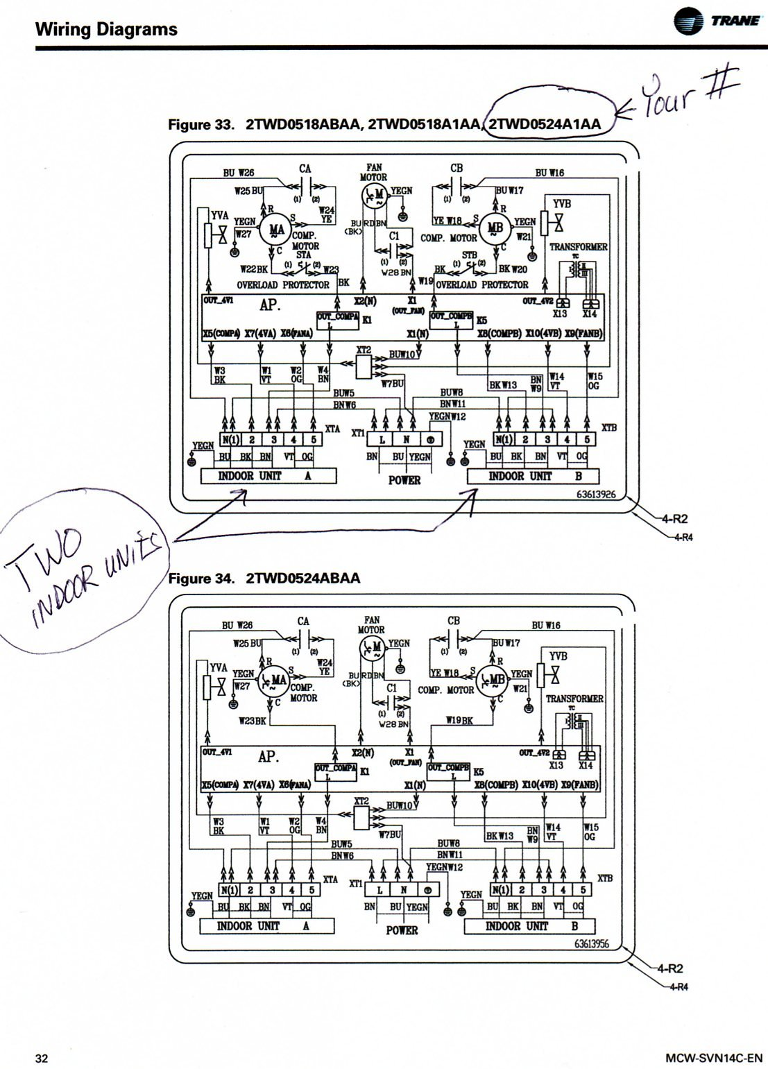 Trane Xl80 Furnace Wiring Diagram