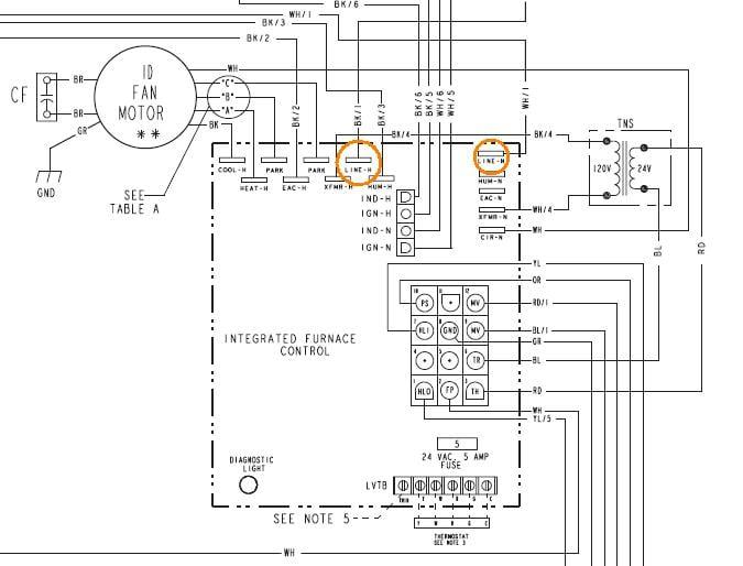 Trane Xl80 Furnace Wiring Diagram