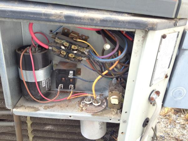 Trane Xr11 Capacitor Wiring Diagram on