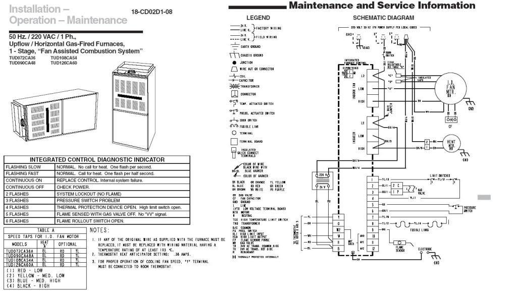 Trane Xv80 Furnace Wiring Diagram