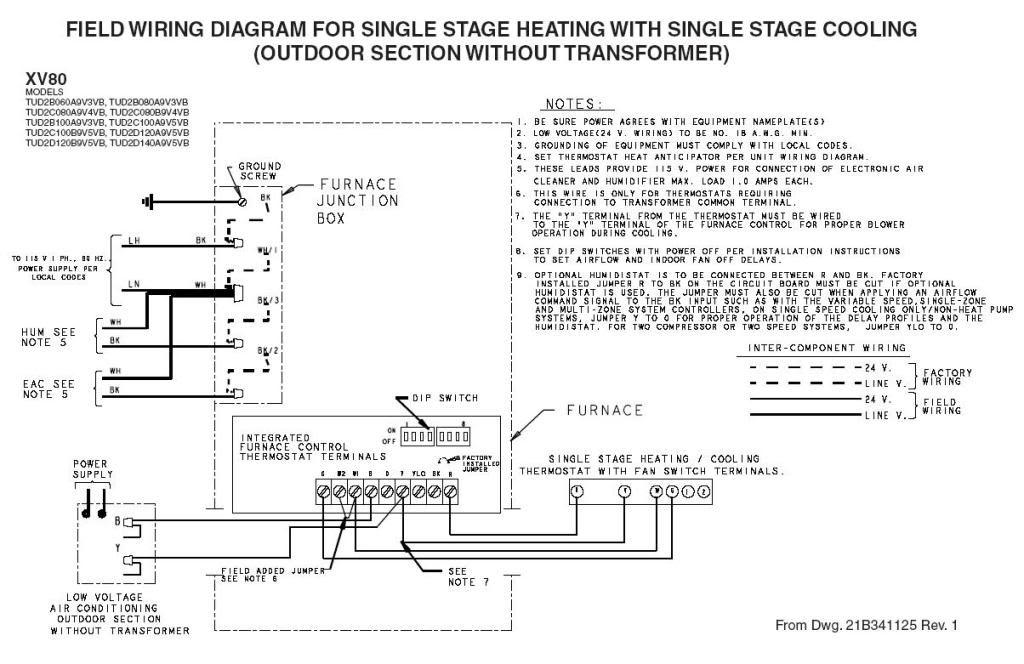 Trane Xv80 Wiring Diagram