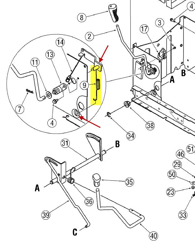 Troy Bilt 13099 Complet Wiring Diagram