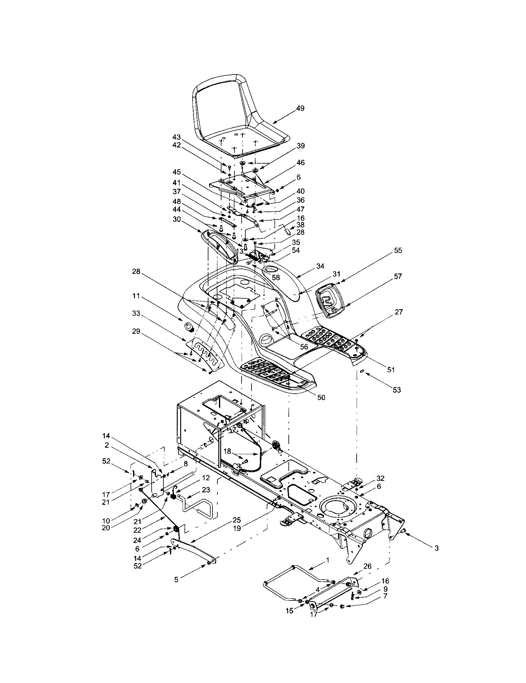 Troy Bilt Lawn Mower Model 4bv809h063 Wiring Diagram