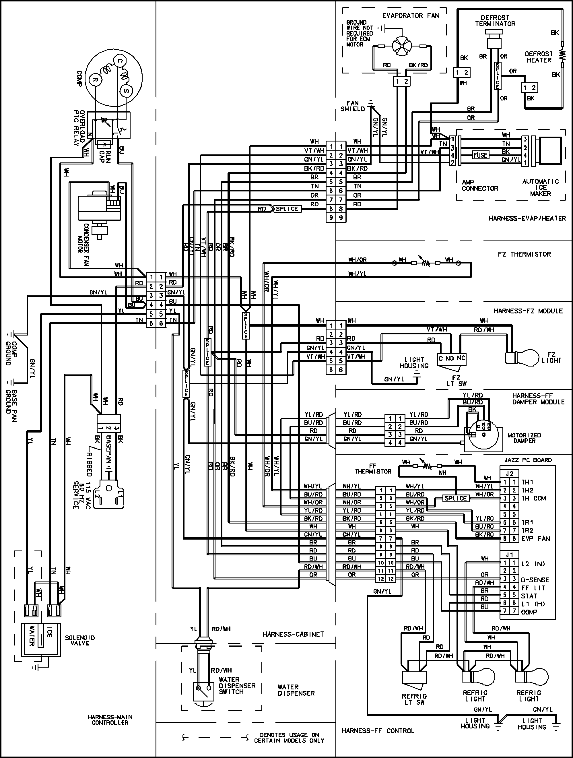 true freezer t 72f wiring diagram True T 49F Wiring Diagram