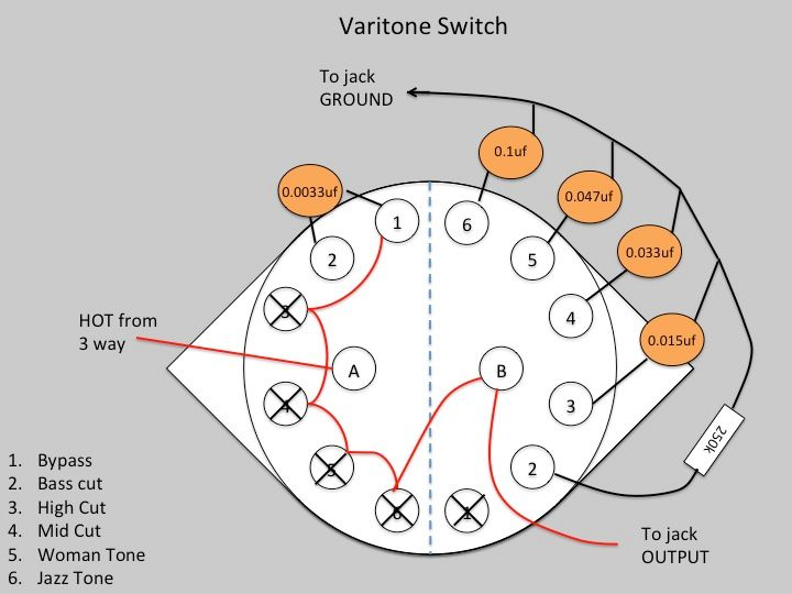 Varitone Wiring Diagram on es-335 switch diagram, bc rich warlock guitar diagram, bc rich varitone filter diagram,