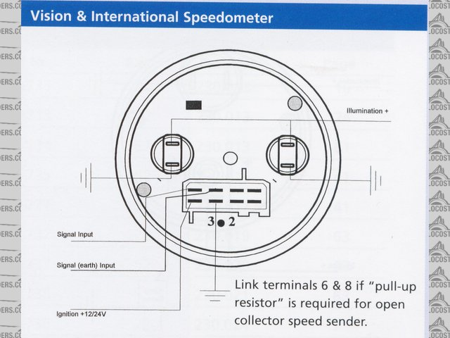Tachometer Wiring Diagram from schematron.org
