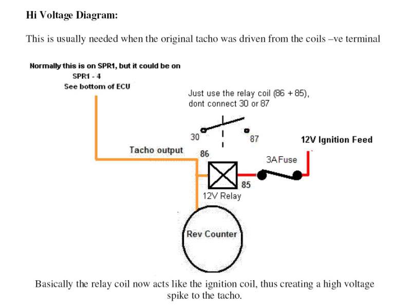 Vdo Rev Counter Wiring Diagram