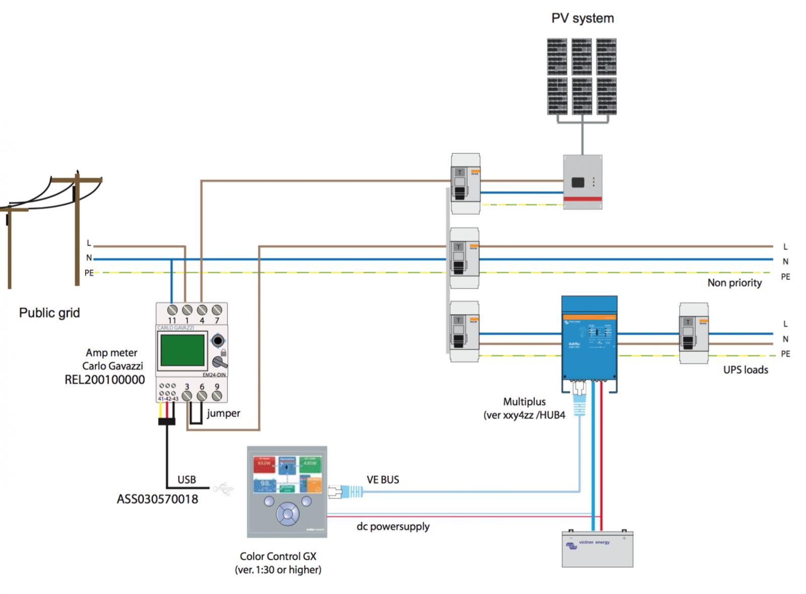 Dc Inverter Wiring Diagram