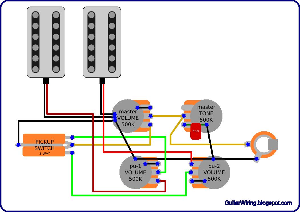 Vintage Gretsch Wiring Diagram With Master Volume