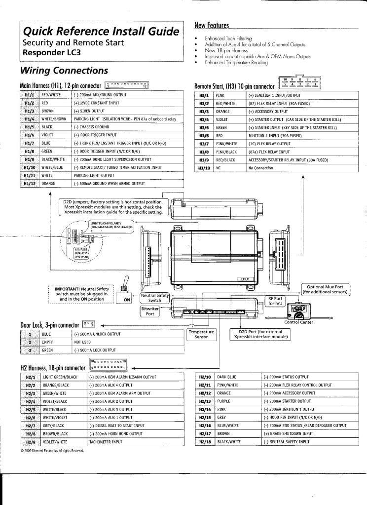 Viper 3400v Wiring Diagram