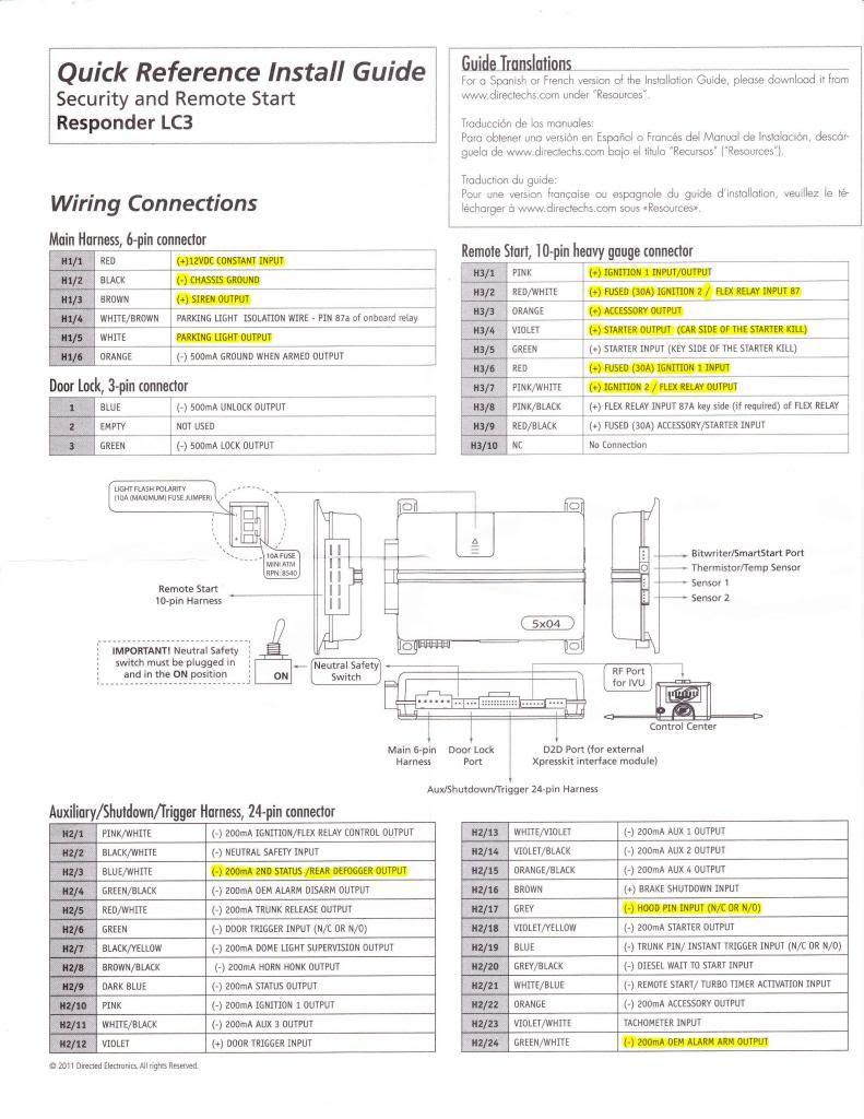 Viper 5706V Wiring Diagram from schematron.org