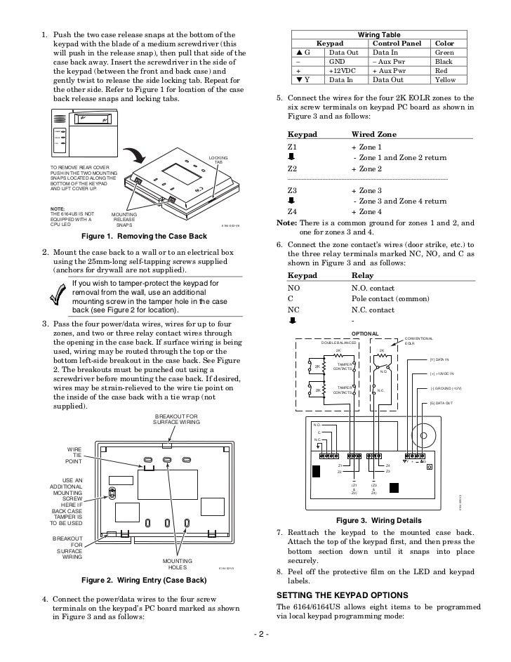 Vista 128bpt And 4202 Relay Wiring Diagram