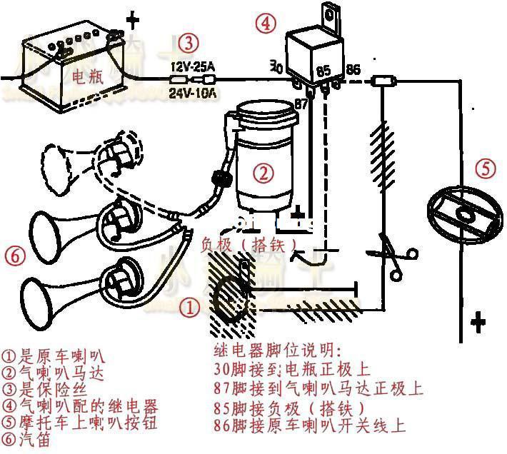 Diagram Vixen Ooga Horn Wiring Diagram