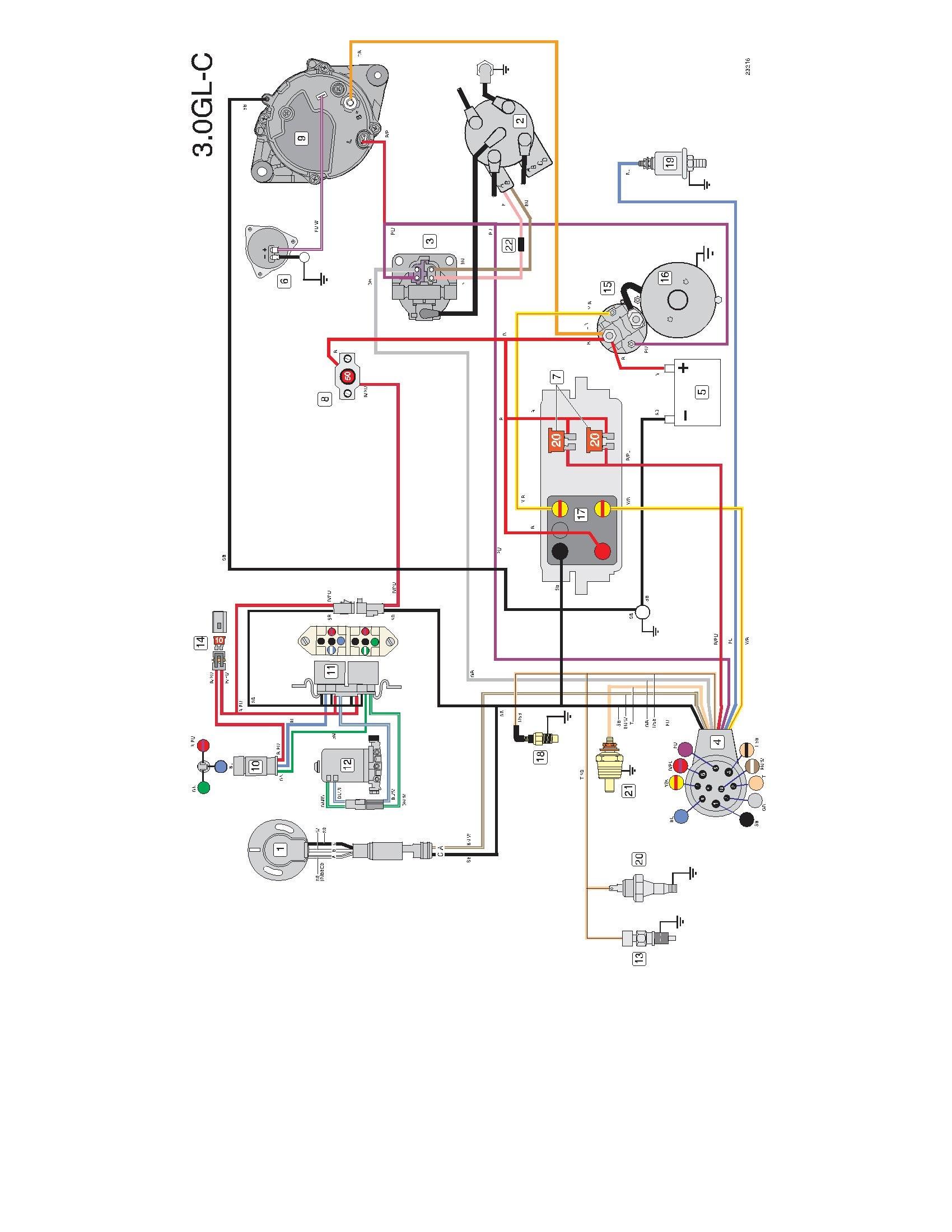 Volvo Penta 5 7 Mpi Marine Wiring Diagram