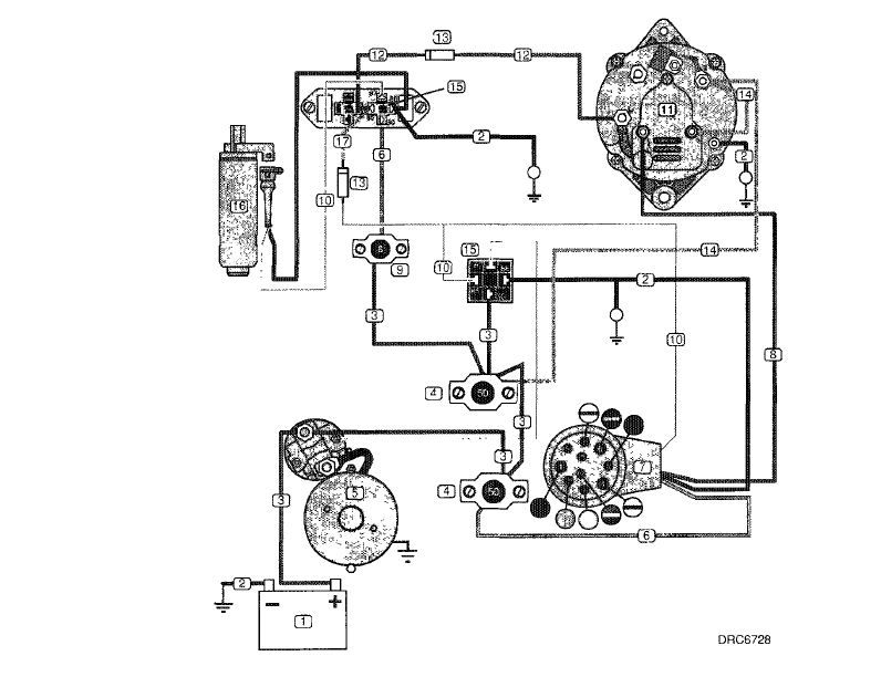 Volvo Penta Fuel Pump Wiring Diagram 4 3 Relays Part No