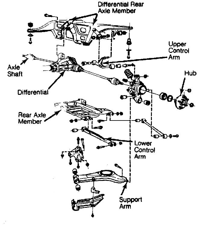 Volvo S60 Suspension Diagram