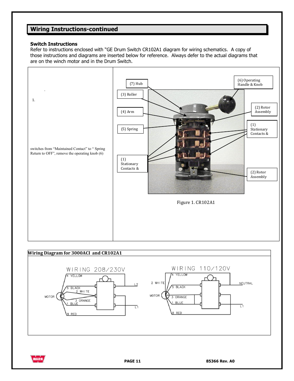 Warn Winches Wiring Diagram