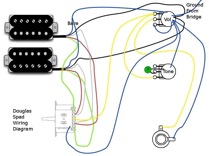 Washburn Vee Wiring Diagram on