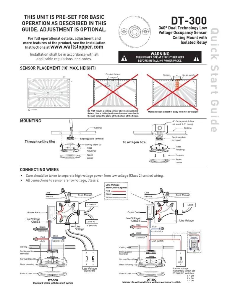 Low Voltage Motion Sensor Wiring With Relay. . Wiring Diagram on
