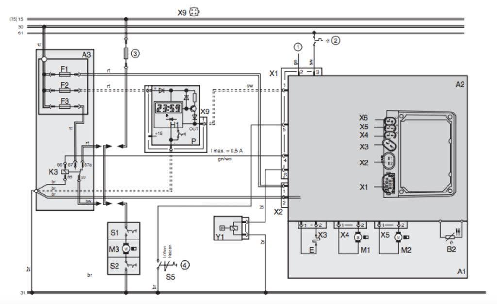 Webasto Sunroof Wiring Diagram
