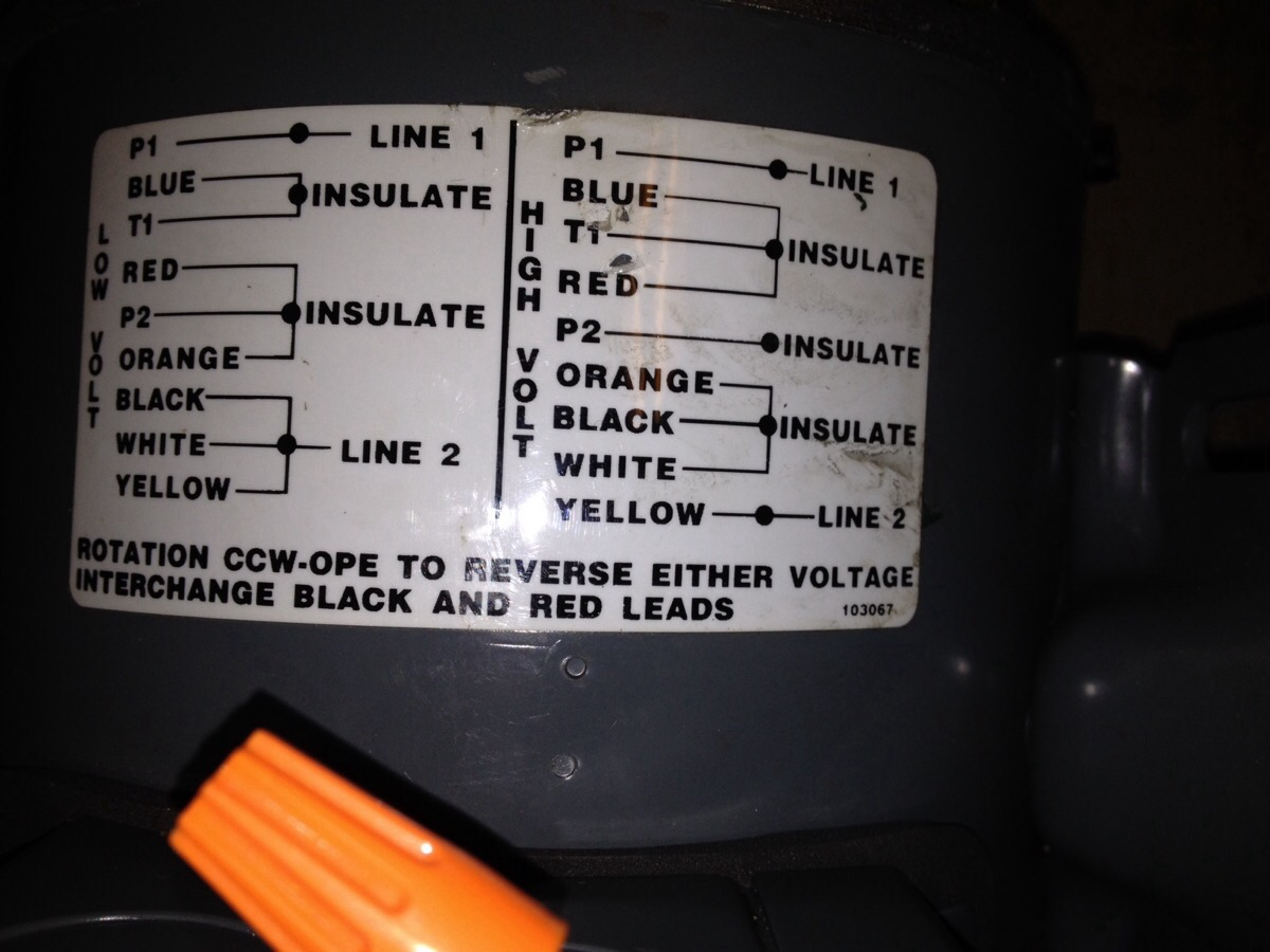 Marathon Electric Motors Wiring Diagrams Capacitor