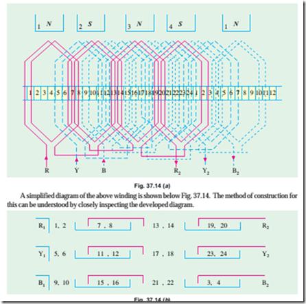 wiring diagram 4 pole 12 lead motor list of wiring diagrams 4 Pole AC Motor Wiring Diagram