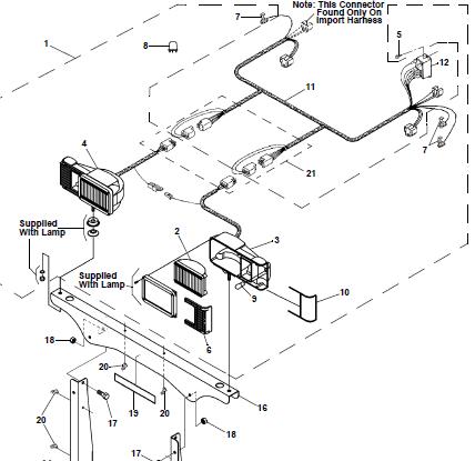 western snow plow lights wiring diagram. Black Bedroom Furniture Sets. Home Design Ideas