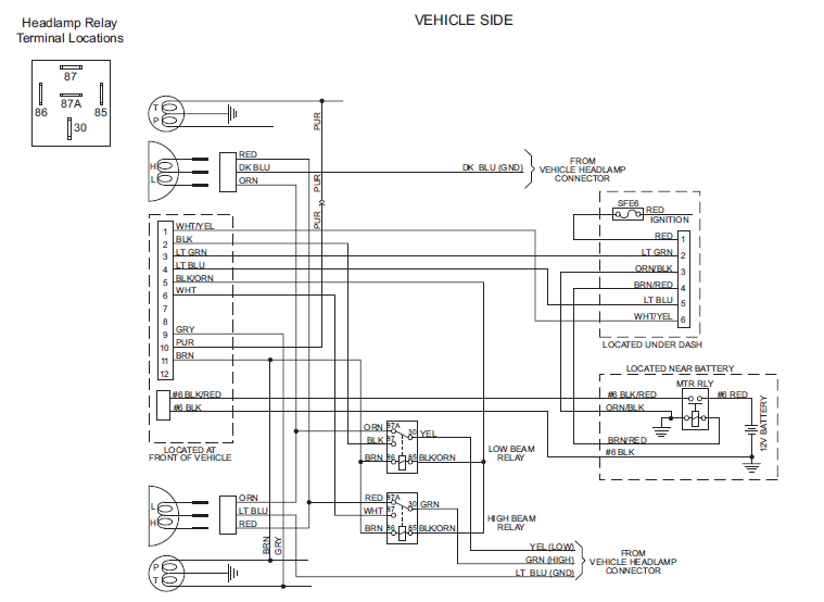 Diagram  Boss Plow Light Wiring Diagram Full Version Hd