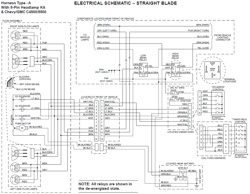 Boss Snow Plow Headlight Wiring Diagram - Wiring Diagram G11 Western Unimount Wiring Diagram Chevy Light on