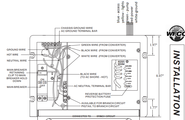Wfco Converter Wiring Diagram
