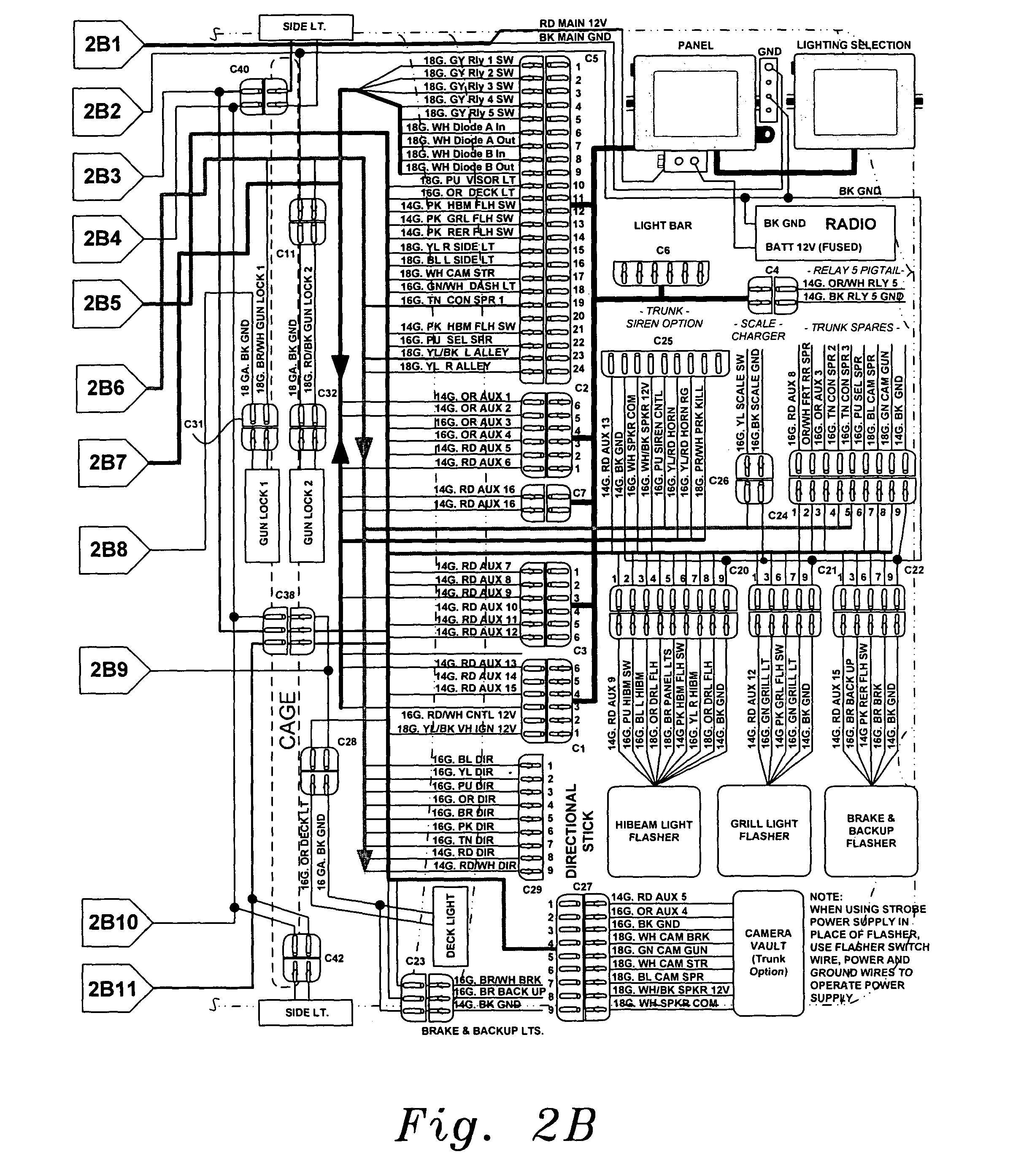 Whelen Light Bar Wiring Diagram on