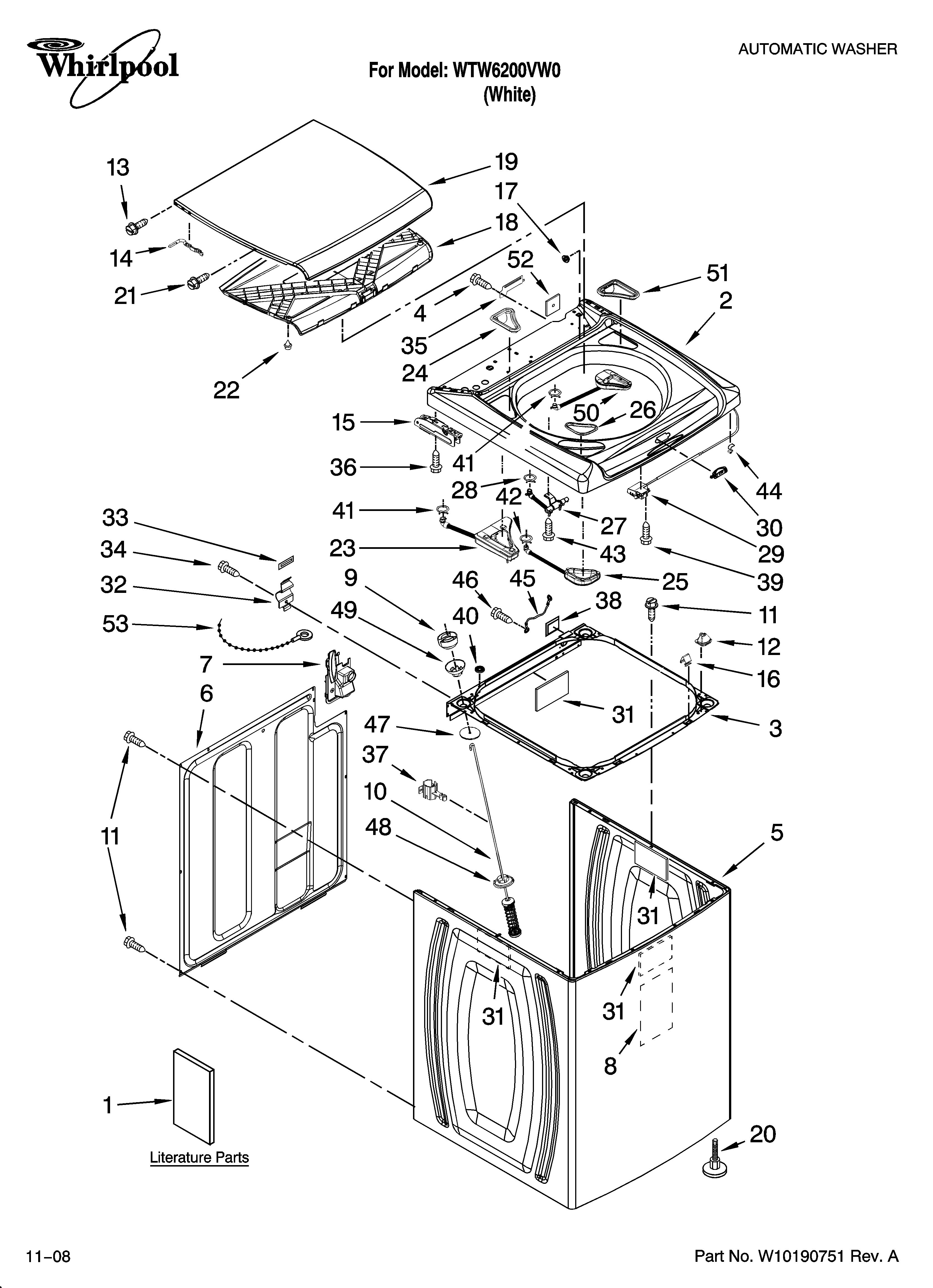 Diagram Together With Front Load Washing Machine Parts On Washing