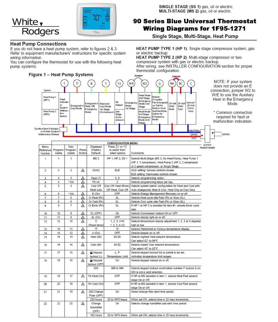 white-rodgers-1f82-261-heat-pump-thermostat-wiring-diagram  Stage Heat Cool Thermostat Wiring Diagram on