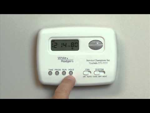 Emerson Thermostat Wiring