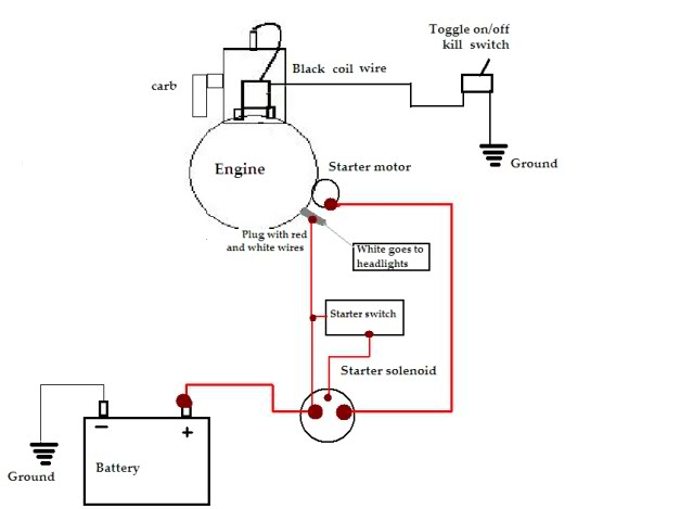 wiring-diagram-165-hp-twin-white-riding-mower-11  Hp Kohler Engine Wiring Harness Diagram on for older, ch20s, courage 22 hp, cv14s, cv18s ignition, for mv20, ykhxs 4262gb, ignition switch, command 18 hp, for starter solenoid,