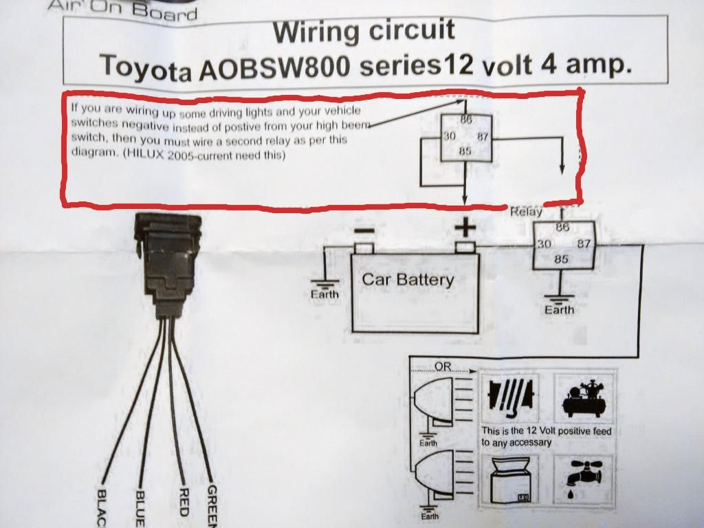 Wiring Diagram 2007 4 Runner Vsc Switch