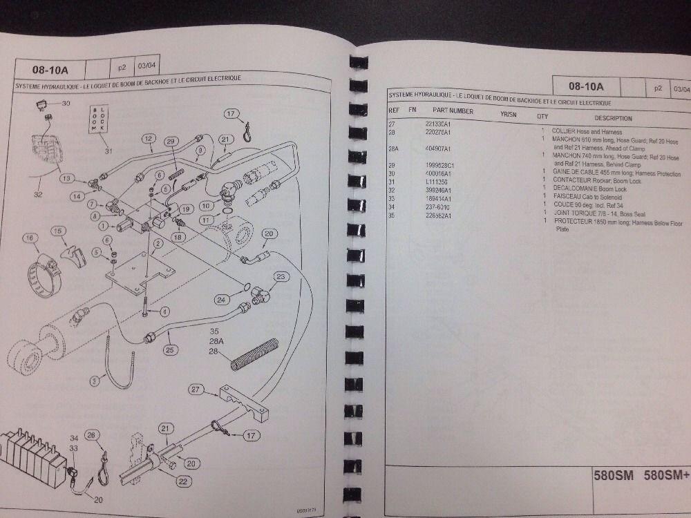 580k Backhoe Wiring Diagram    Wiring Diagram