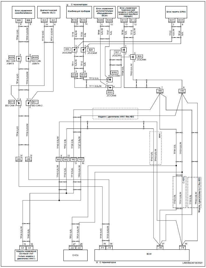 Wiring Diagram 2b1 Halogen Headlight on