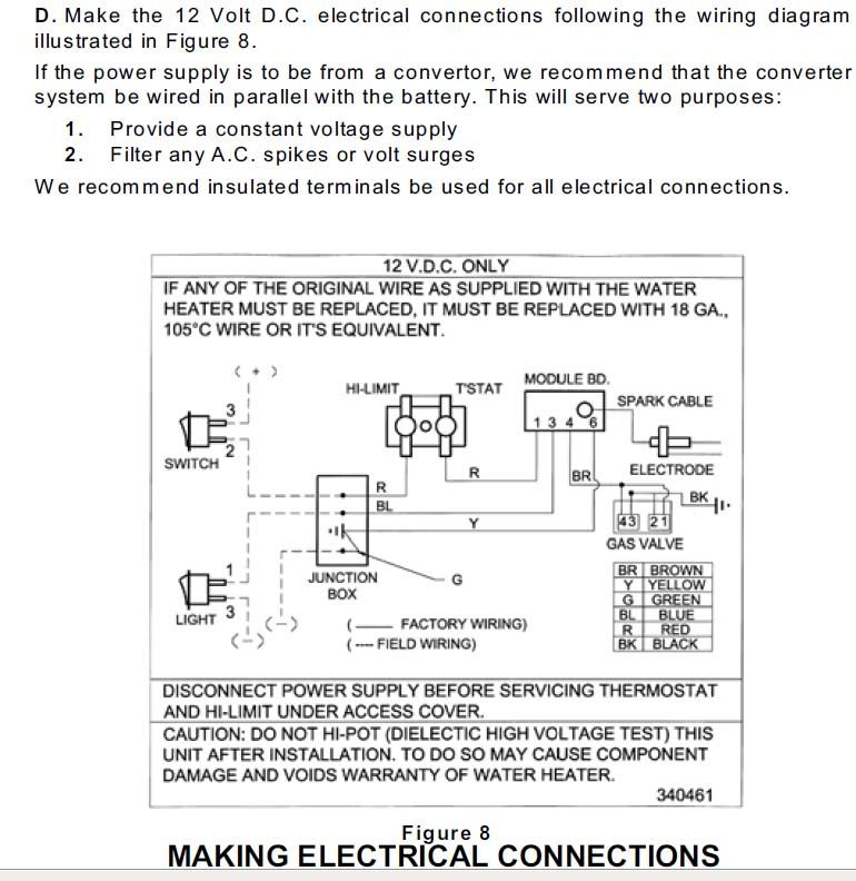 Wiring Diagram 35835 Atwood Thermostat