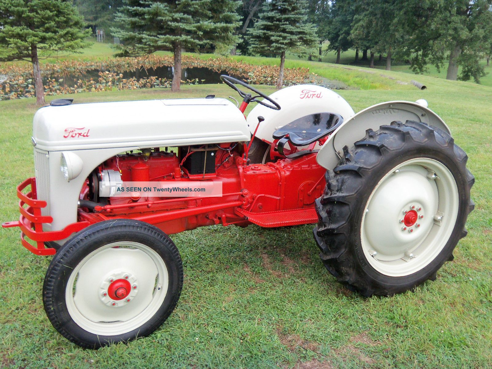 Wiring Diagram For 1941 9n Ford Tractor