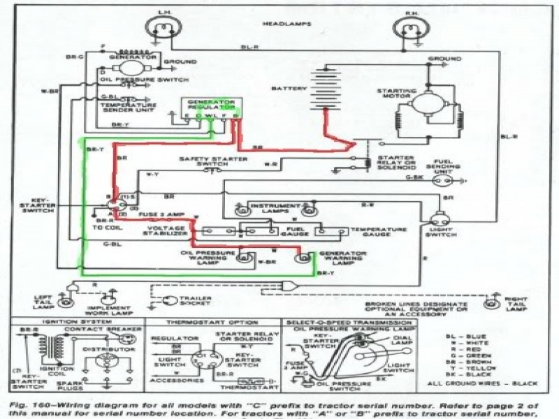 1953 Ford Jubilee Tractor Wiring Diagram from schematron.org