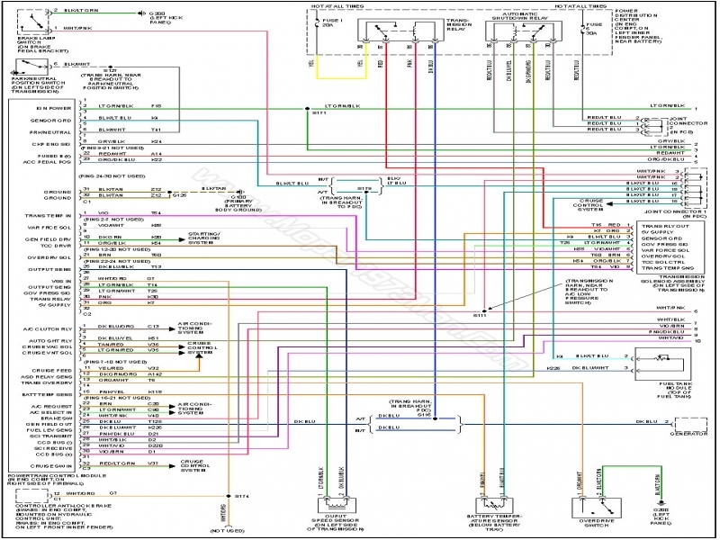 Wiring Diagram For 2007 Dodge Ram 2500 6 7l 4x4