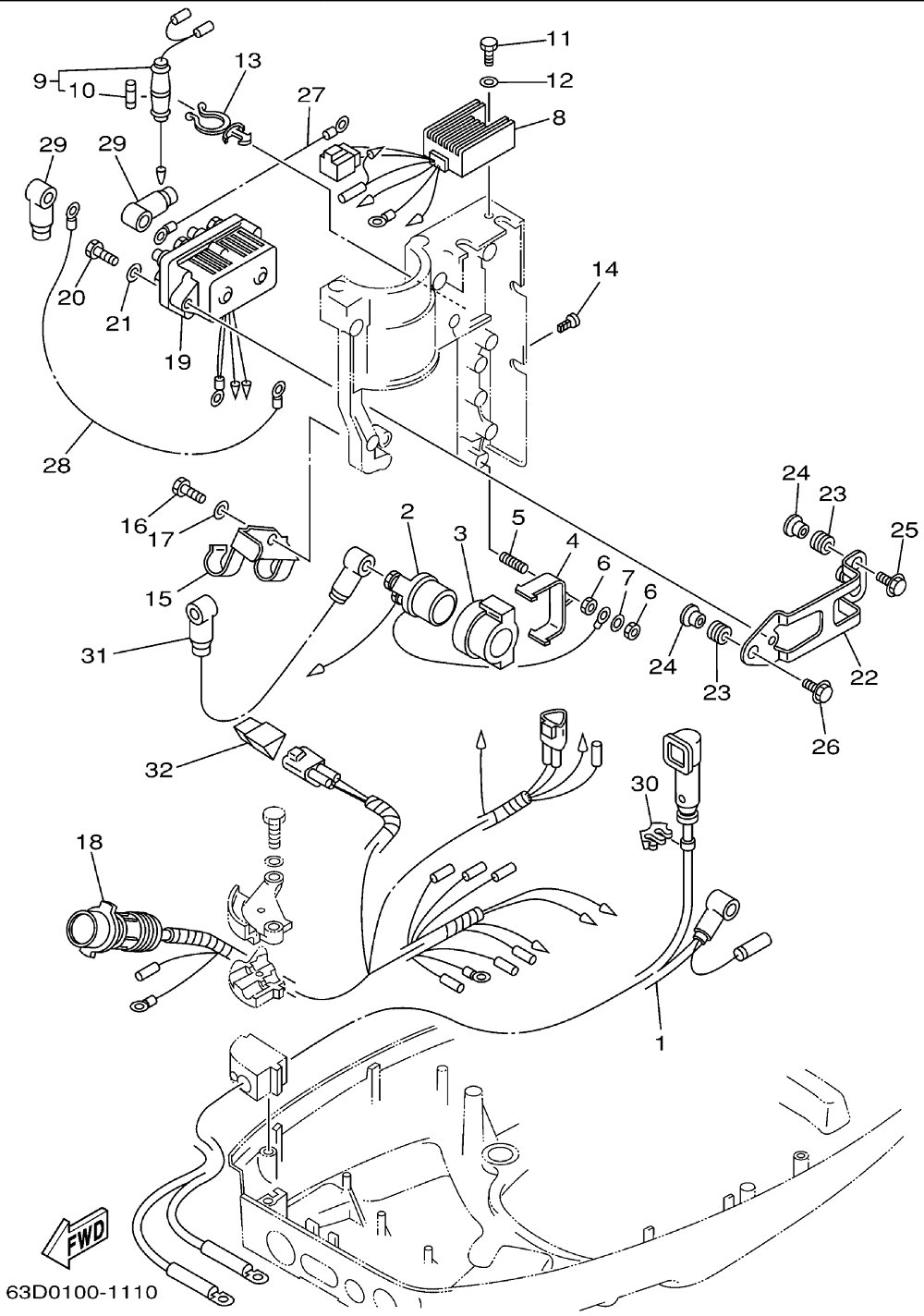 50 Hp Johnson Outboard Wiring Diagram Pdf from schematron.org
