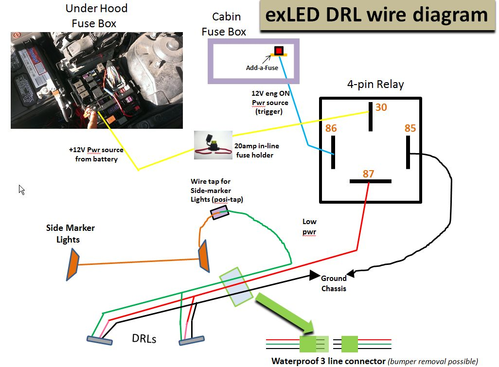 Wiring Diagram For 5 Pin Relay For Drl With Turn Signal Wire on turn signal cable, turn signal system, turn signal flasher, turn signal fuse, gm turn signal switch diagram, ford turn signal switch diagram, turn signal repair, turn signal plug, 2004 acura tl fuse box diagram, turn signal relay, turn signal socket diagram, turn signal lights, circuit diagram, universal turn signal switch diagram, turn signal headlight, turn signal regulator, turn signal solenoid, turn signal sensor, turn signal troubleshooting, turn signal wire,