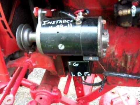 Wiring Diagram For 6v Tractor Voltage Regulator Positive ...