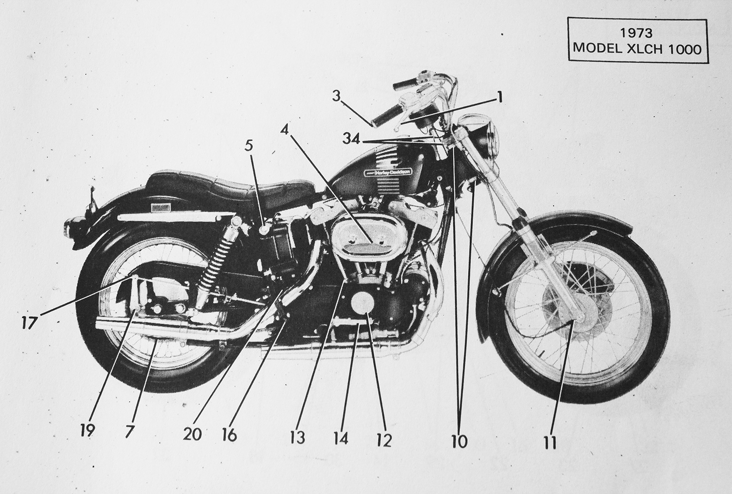 Wiring Diagram For 72 Harley Hei Ignition on