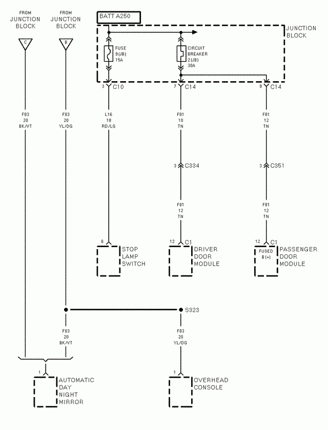 Wiring Diagram For A 1996 Jeep Wrangler The Asd Circuit