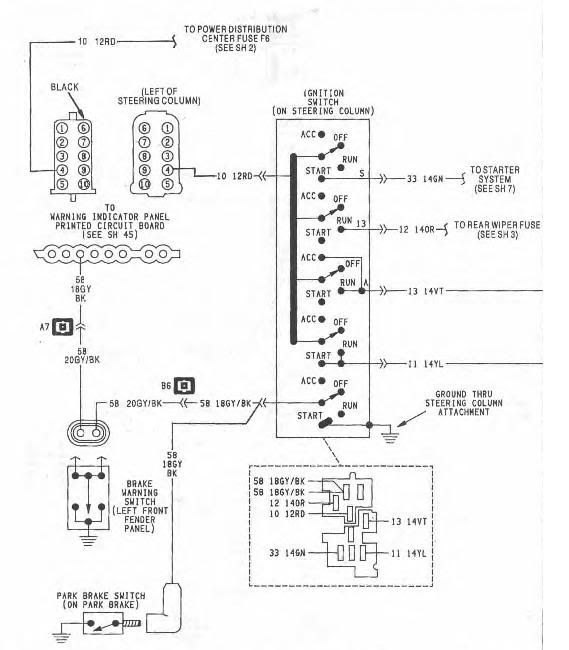 Jeep Ignition Switch Wiring Diagram Wiring Diagram