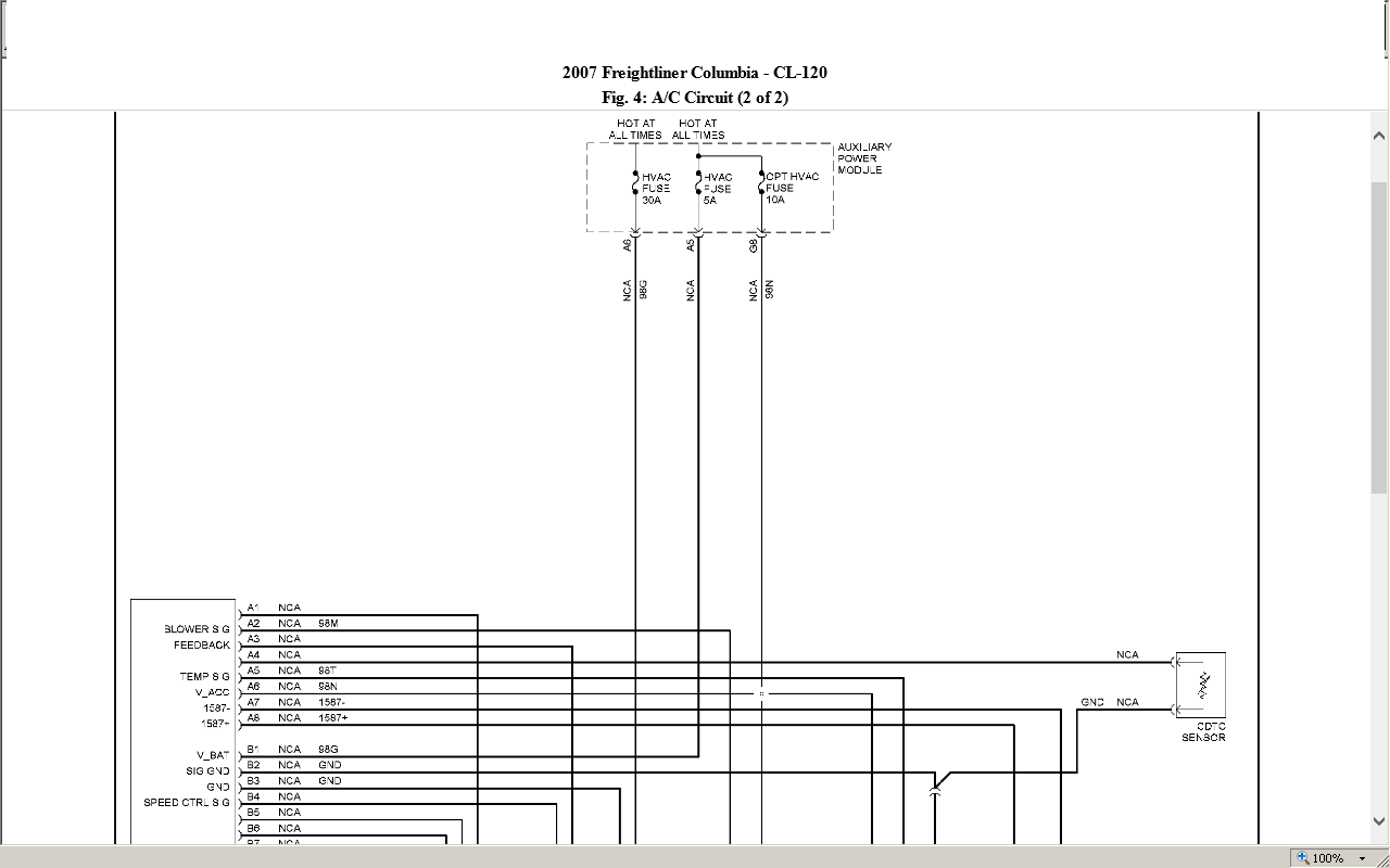 Wiring Diagram For A 2011 Cascadia Freightliner