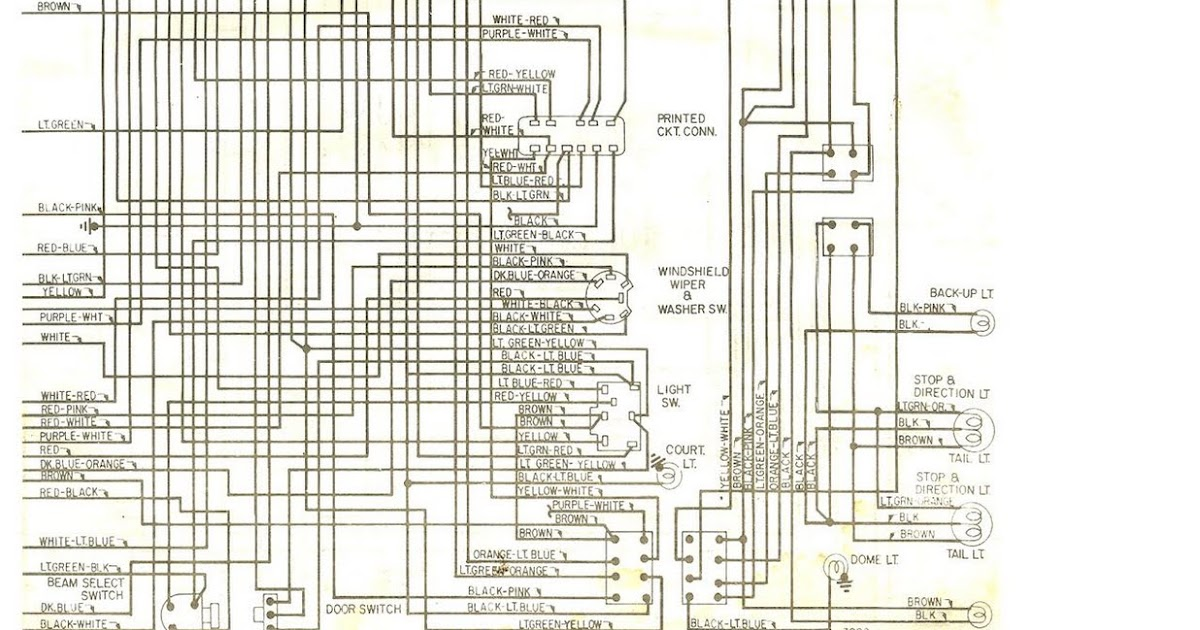Wiring Diagram For A 69 Torino